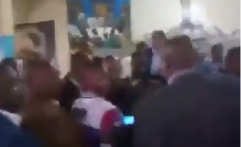 Maina Kamanda and Ndindi Nyoro fight in church
