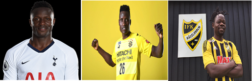 Top 3 Foreign based Kenyan players who earn highly