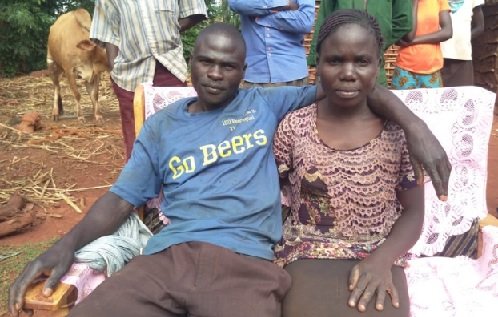 Two women from Siroba and Namuchula in Busia exchange husbands