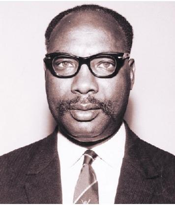 Meet Jackson Harvester Angaine, Kenya's Minister of Lands and Settlement after independence.