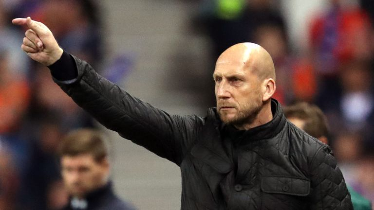 Jaap Stam resigns as Feyenoord manager