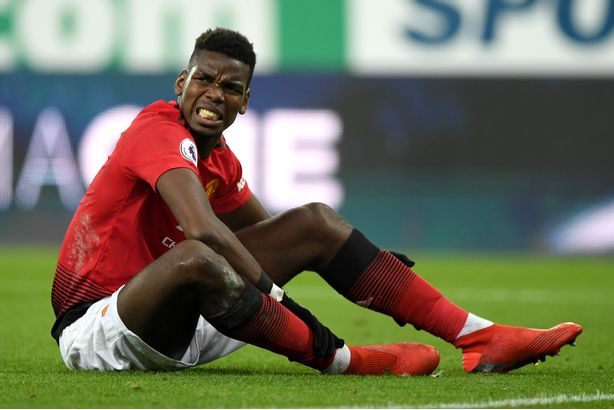 Paul Pogba to be sidelined until December