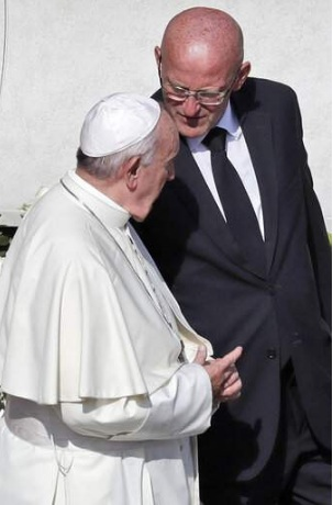 Pope Francis security guard resigns following a scandal