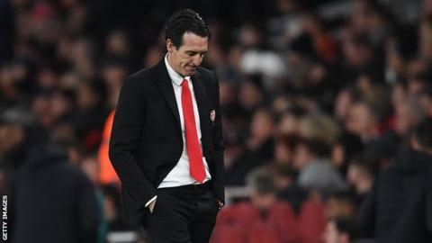 Unai Emery has been sacked as manager of Arsenal