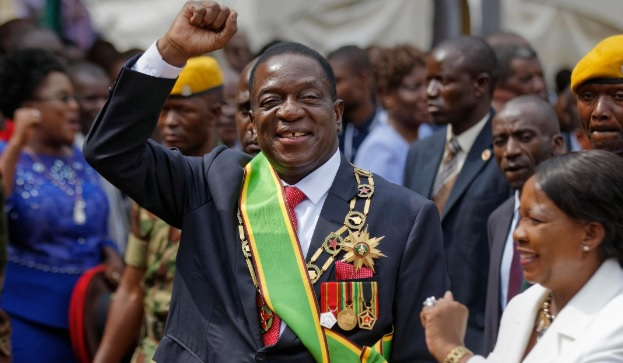 Zimbabwean President Emmerson Mnangagwa sparks outrage after naming 10 roads after himself