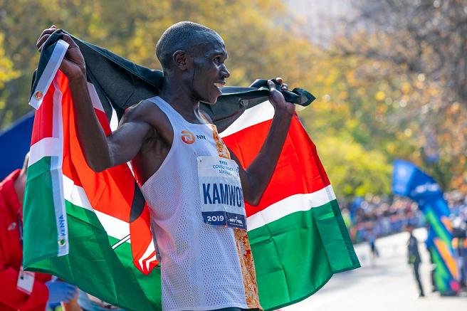 Kenyans shine in the New York Marathon