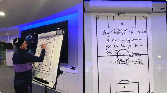 Mauricio Pochettinho's goodbye message to Spurs players