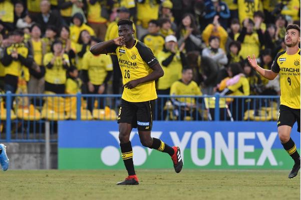 Michael Olunga scores seven goals as Kashiwa Reysol thrash Kyoto Sanga 13-1