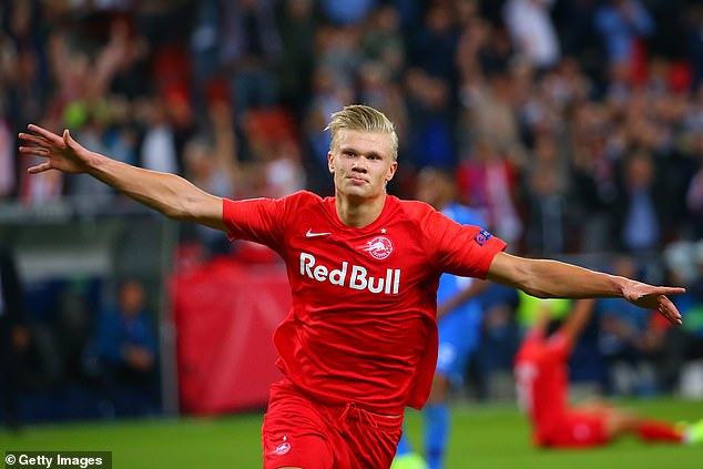 Erling Haaland: It's not hard to deal with transfer speculation