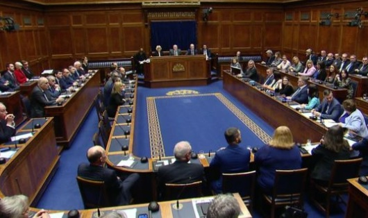 Northern Ireland Assembly sits for the first time in 3 years