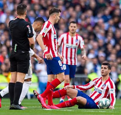 Alvaro Morata injury is a big blow for Diego Simeone