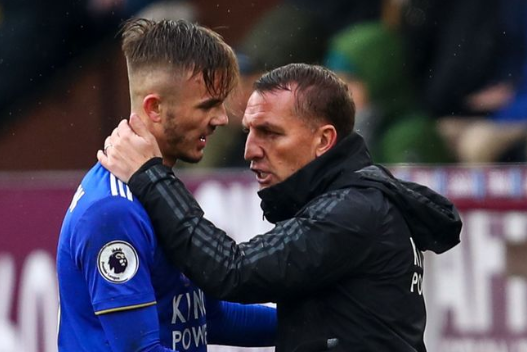 Brendan Rodgers is hopeful that James Maddison will sign a new deal at Leicester City