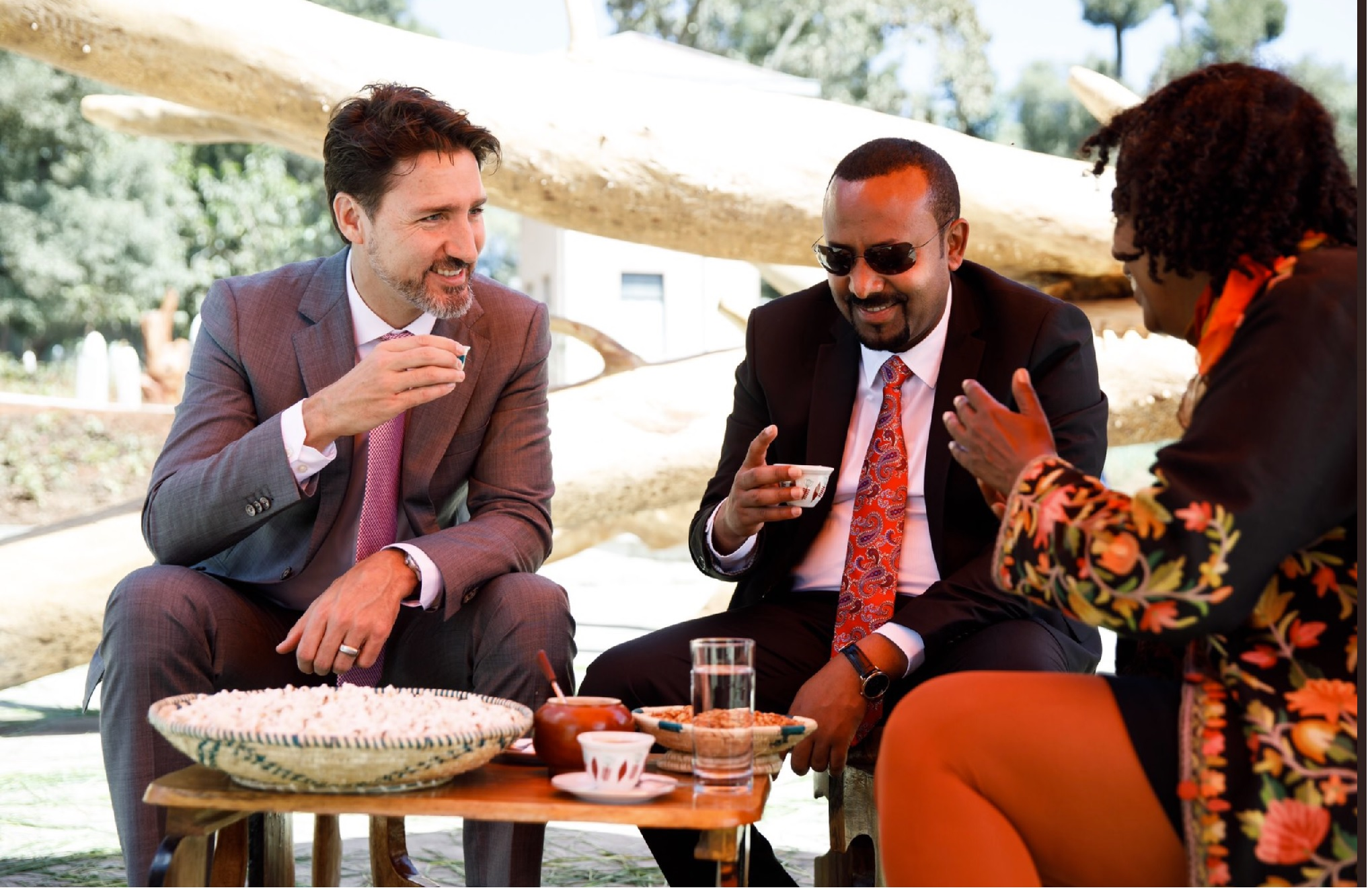 Canadian PM Justin Trudeau meets African leaders during his to visit to Ethiopia to attend AU Summit (photos)