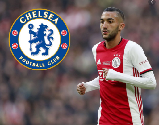 Chelsea reportedly agree fee for Ajax's Hakim Ziyech