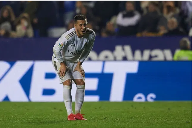 Real Madrid's Eden Hazard to miss Manchester City and El-Clasico clashes