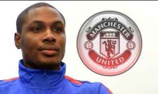 Odion Ighalo joins Manchester United on loan