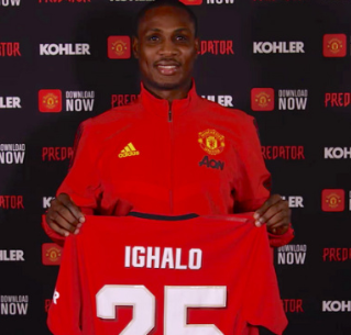 Manchester United forward Odion Ighalo to miss the club's training camp in Spain