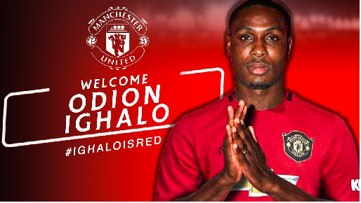 Odion Ighalo happy to join United