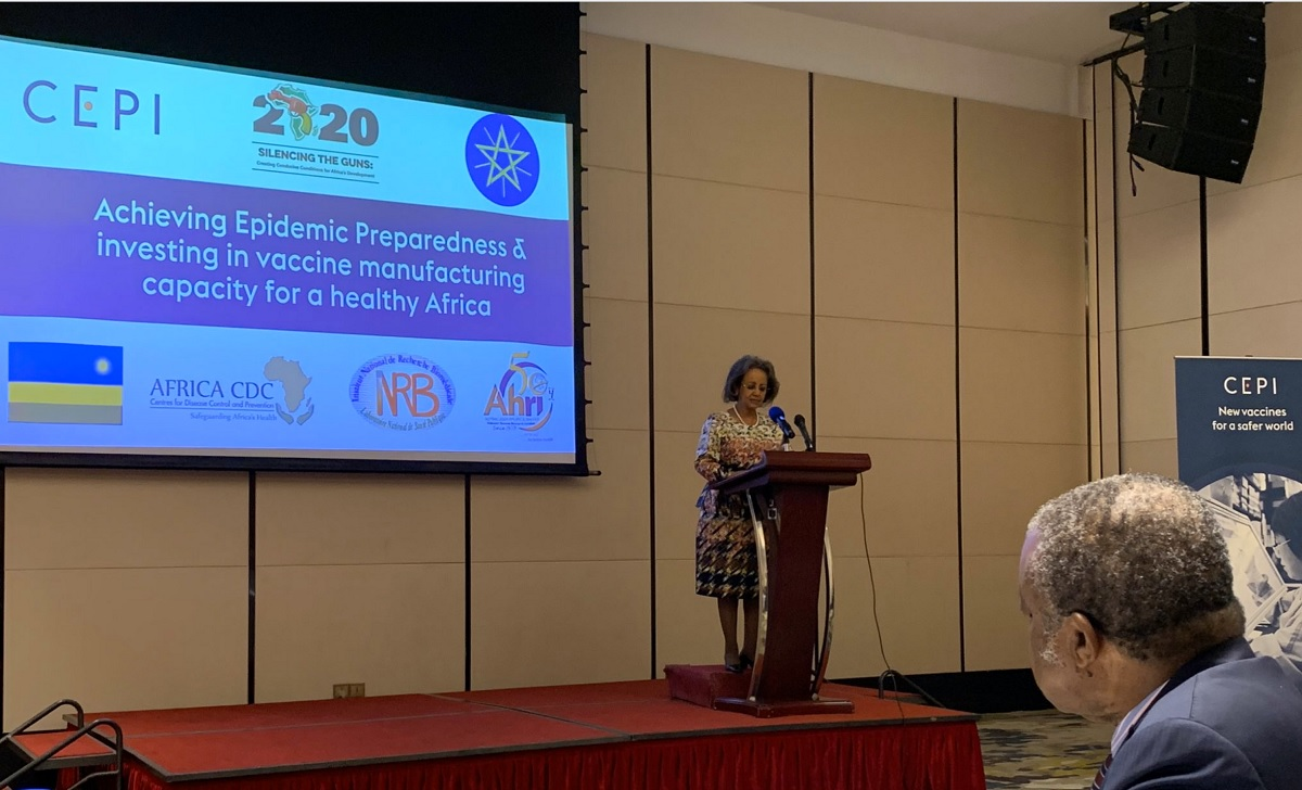 President of Ethiopia calls for increased epidemic preparedness and vaccine manufacturing in Africa