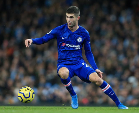 Chelsea's Christian Pulisic to miss clash with Manchester United
