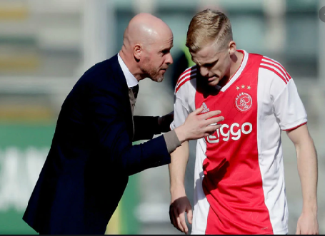 Ten Hag hopes Van de Beek stays at Ajax