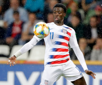 Lille's Timothy Weah suffers an injury setback on return from injury