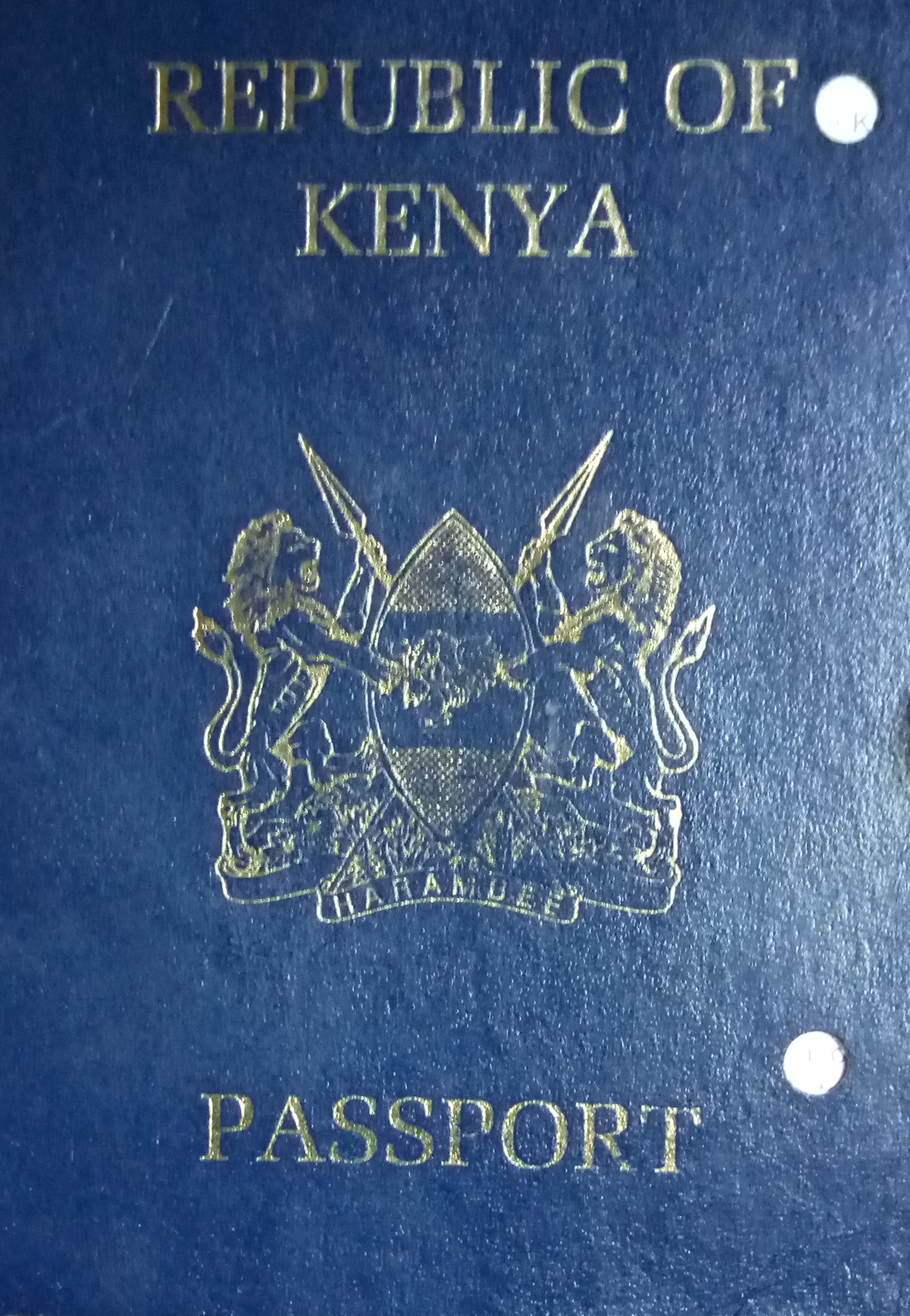 State extends the deadline for use of old Kenyan passports to March 2021
