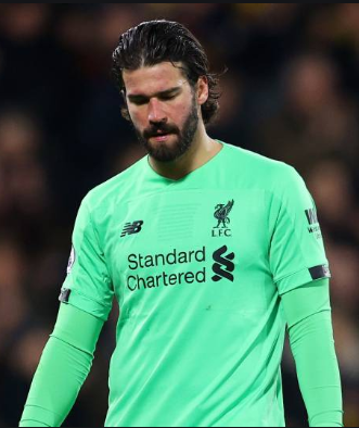 Liverpool goalkeeper Alisson to miss Atletico Madrid clash