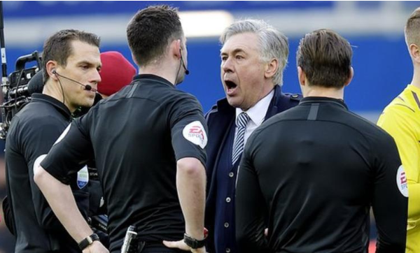 Carlo Ancelotti charged with misconduct by FA