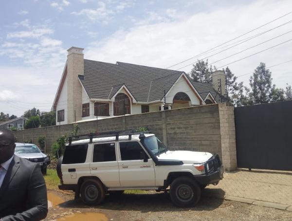 DCI detectives raid Rashid Echesa's home in Karen
