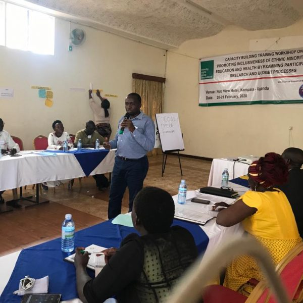 Promoting participatory planning and budgeting for minority groups and indigenous communities in East Africa