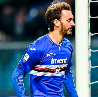 Sampdoria striker Manolo Gabbiadini tests positive for coronavirus