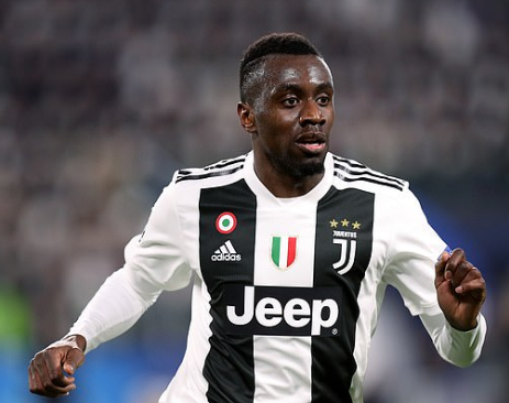 Juventus confirm that midfielder Blaise Matuidi has tested positive for COVID-19