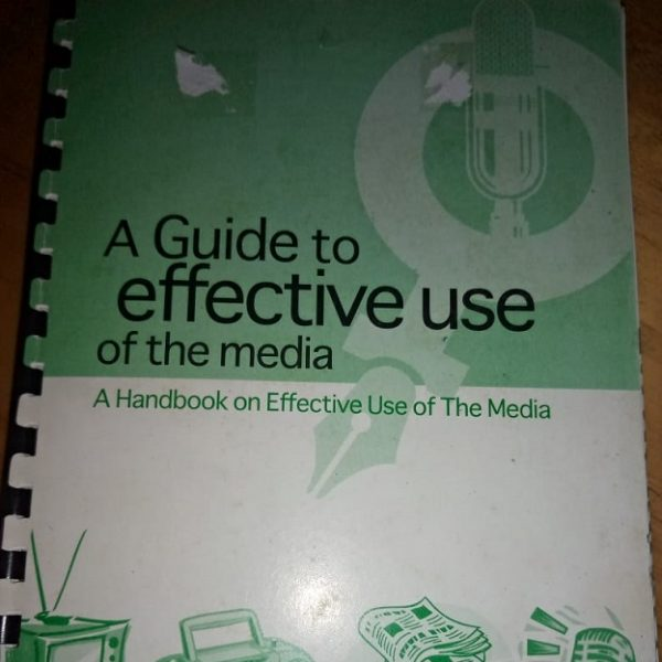 A guide to effective use of the media