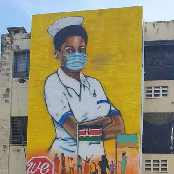 Mombasa salutes all nurses!