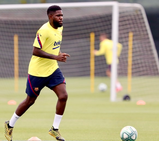 Samuel Umtiti picks up injury after two days training