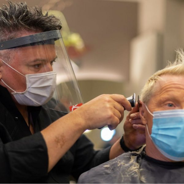 Hairdressers in Germany have reopened but you've to book an appointment