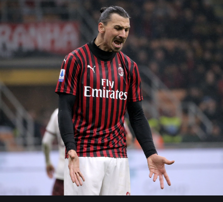 Ibrahimovic injured in Milan training session