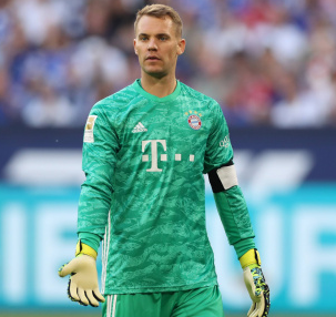 Manuel Neuer signs a contract extension at Bayern Munich