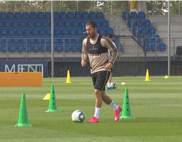 Real Madrid return to training ahead of Laliga restart