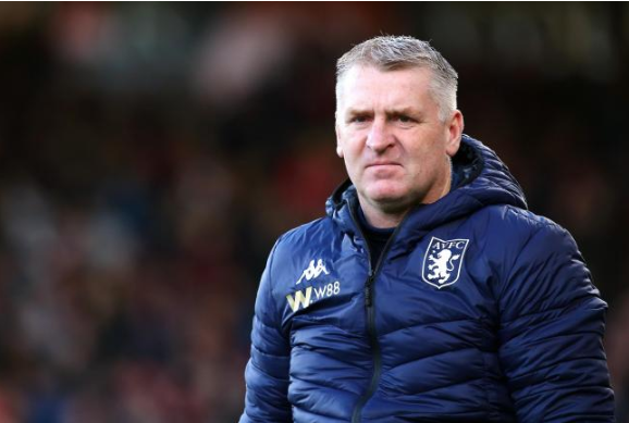 Aston Villa confirm death of Dean Smith's father after Coronavirus battle