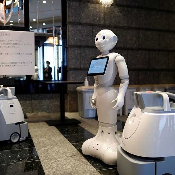 Robots launched to serve Covid-19 patients in Tokyo hotel