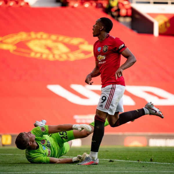 Martial scores first Manchester United hat-trick in seven years