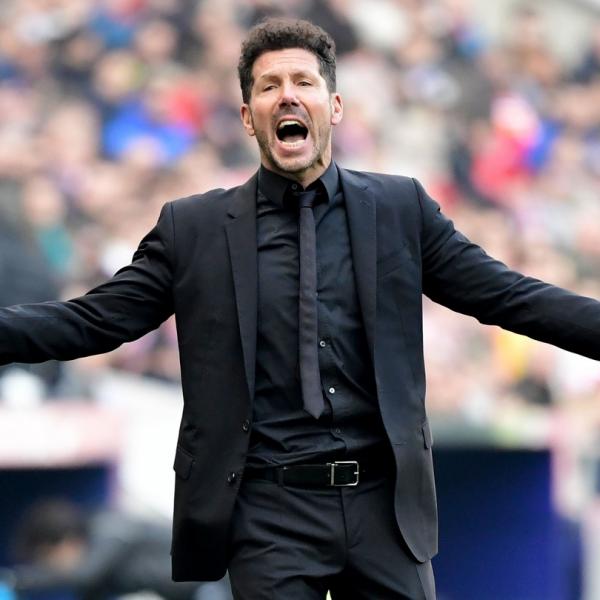 Atletico boss Simeone matches Aragones for La Liga wins