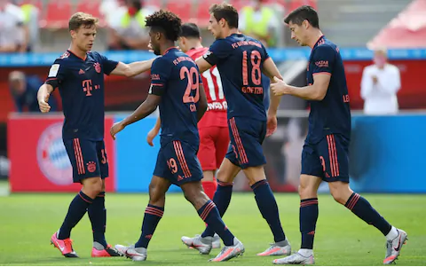 Bayern Munich are now two wins away from winning the Bundesliga title