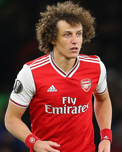 David Luiz signs a new one-year contract with Arsenal