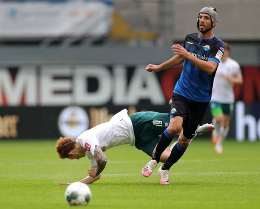 Paderborn midfielder Gjasula sets Bundesliga record with 17th booking