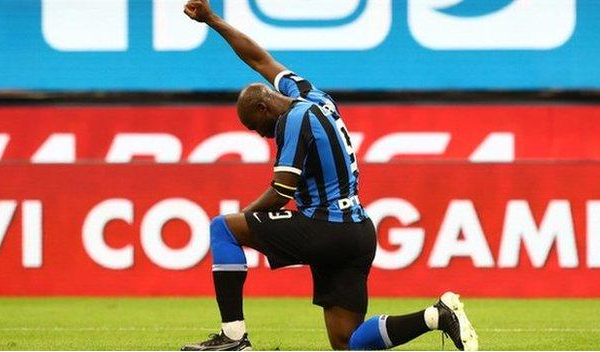 Lukaku scores and takes a knee as Inter resume Serie A season with a win
