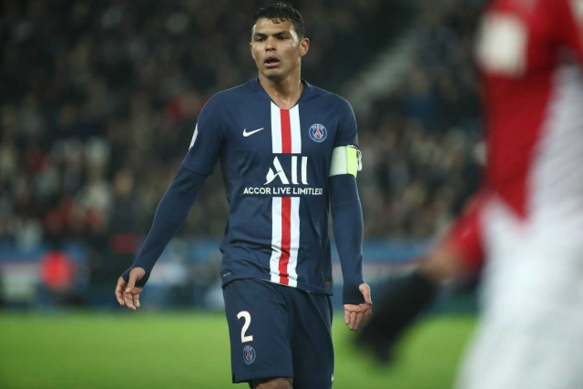 Thiago Silva, Sergio Rico and Choupo-Moting extend PSG contracts until end of season