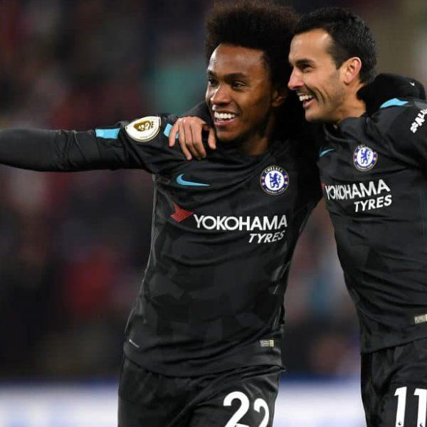 Pedro and Willian agree to finish season at Chelsea